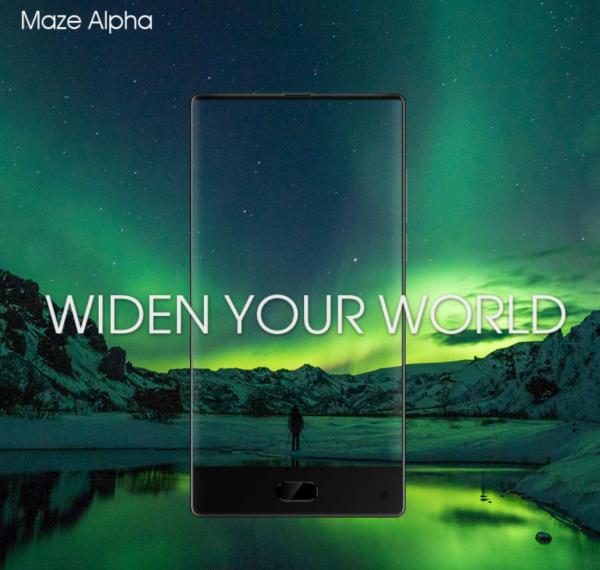 【クーポンで163.99ドル】6インチ『MAZE Alpha』デュアルカメラやベゼルレスとトレンドを押さえたスマホが発売!