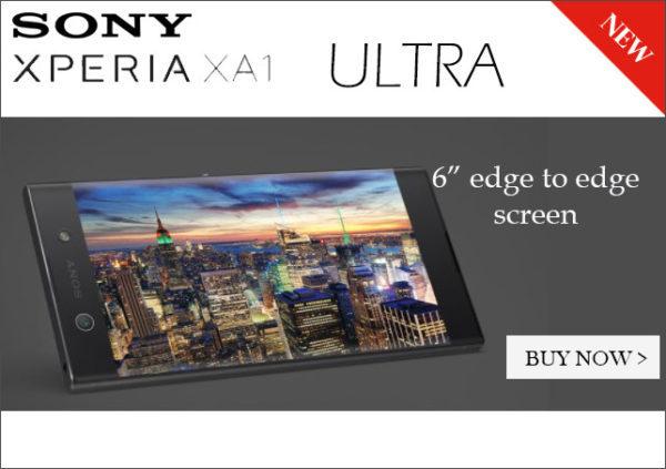 SONYの左右ベゼルレス6インチスマホ『XPERIA XA1 Ultra Dual SIM G3226 32GB』がETORENで発売!