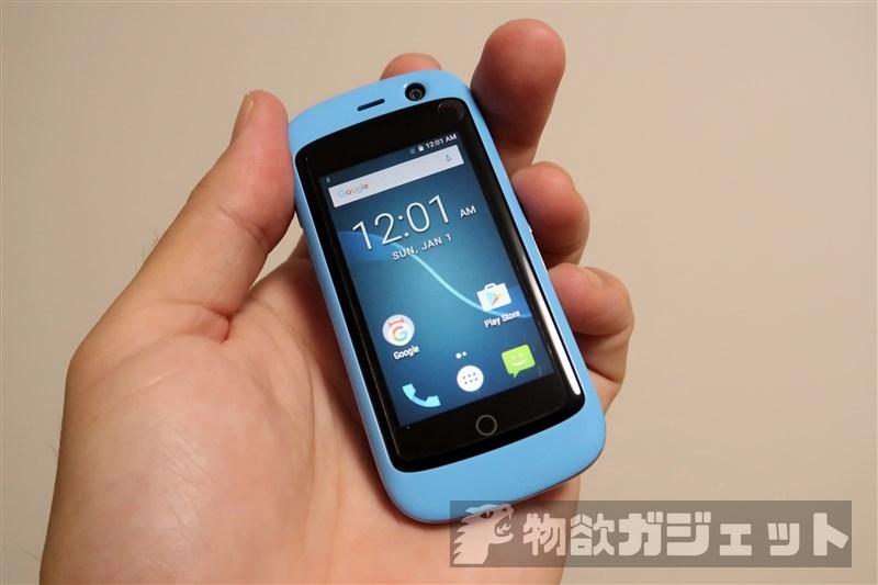 【実機レビュー】世界最小レベルのスマートフォン『Jelly Pro』が届いたのでファースト・インプレッション