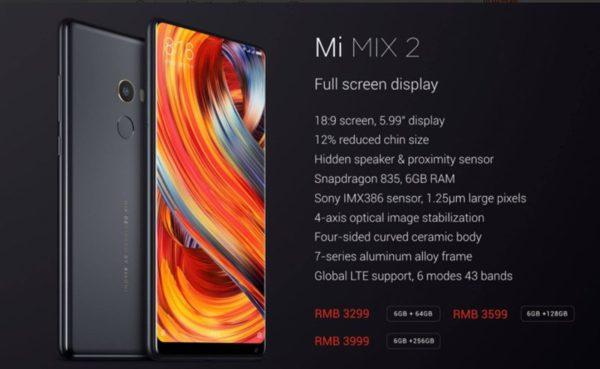 Xiaomi Mi MIX2が驚異の354.99ドル! Xiaomi Mi A1が179.99ドルなど~Banggoodでセールより安くなるスマホクーポン配布中