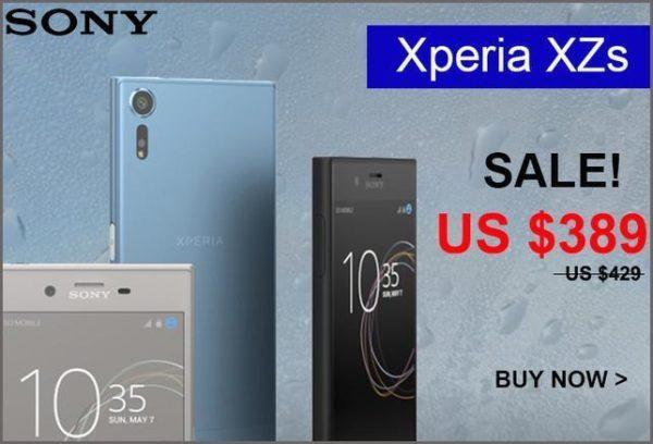 【389ドルで買い時!】SIMフリー版『XPERIA XZs G8232 Dual SIM 64GB』がETORENで発売!旧型のXPERIA XZも安くなってオススメ