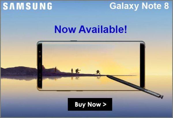 【セールで813ドル!】SIMフリー版『Galaxy Note 8 N950FD Dual SIM 64GB』がETORENとExpansysで販売開始!