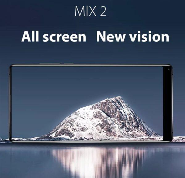 【激安139.99ドル】驚異の画面占有率93.07%の『Vernee MIX 2』が発売! ミドルレンジで100ドル台とお買い得端末