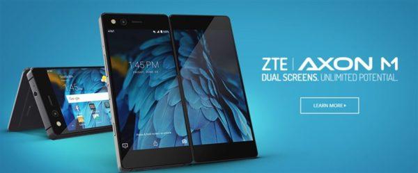 2画面変体端末 ZTE『AXON M』を発表~docomoから発売へ! スペックと価格