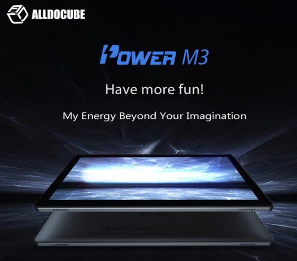【セールで156.99ドル!】100ドル台のSIMフリー10.1インチタブレット『ALLDOCUBE /Cube Power M3』が発売!