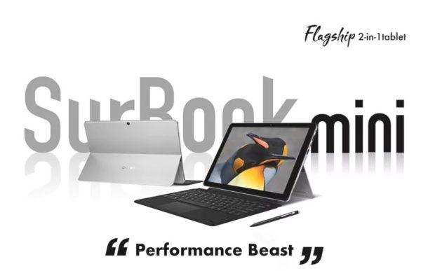 249.99ドル~CHUWIの10.8インチSurface風2in1タブレット『SurBook mini』が発売!