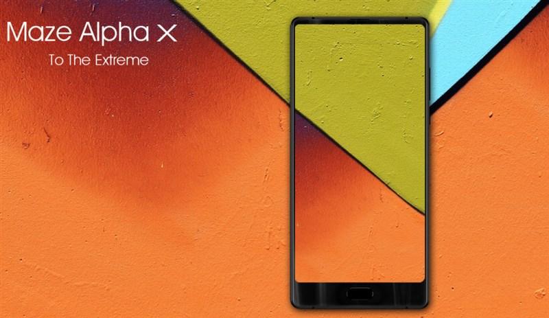 【セールで214.99ドル】Helio P25搭載6インチ3面狭額縁で縦長ディスプレイ『MAZE Alpha X』発売!