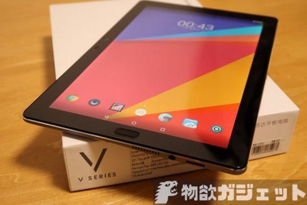 【実機レビュー前編】200ドルちょいで買えるミドルレンジ2K解像度タブレット『ONDA V10 Pro』ファースト・インプレッション