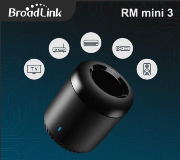 スマート赤外線リモコン「Broadlink RM Portable Mini3 」が15.99ドルとなるクーポン配布中