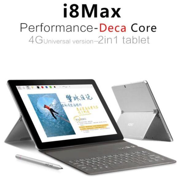 【セールで199.99ドル】Helio X20搭載の2in1タブレット『VOYO i8 Max』が発売! Surface風キックスタンドを搭載のAndroidタブ