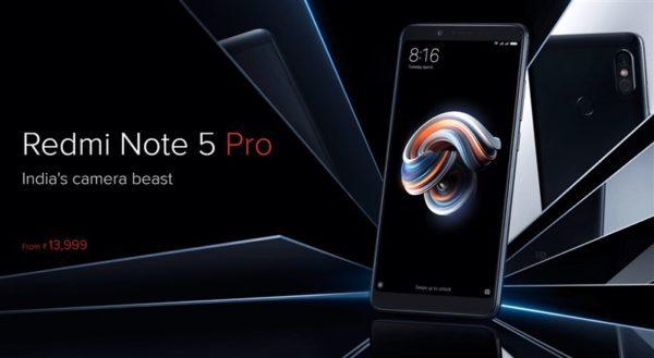 Xiaomi『Redmi Note 5 Pro』発売!スナドラ636,ダブルレンズカメラで2万円台~