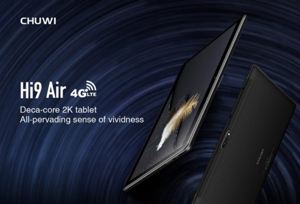 【163.99ドルクーポン追加】シャープ製10.1インチ2K解像度タブレット『CHUWI Hi9 Air』~10コアのHelio X20搭載~