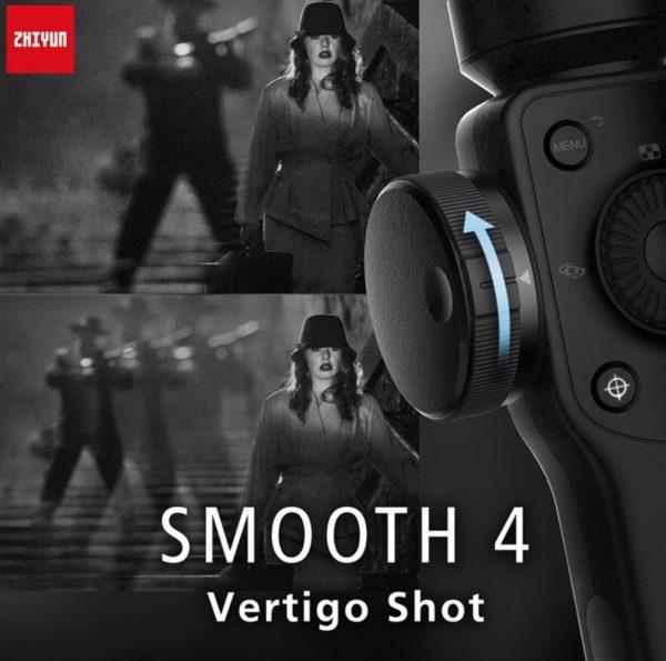 【クーポン追加】低価格多機能スマホジンバル「Zhiyun Smooth 4 」発売!