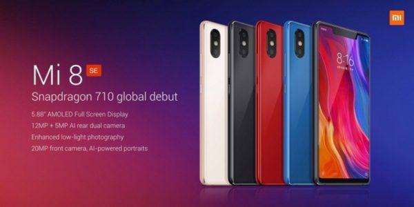 【クーポン更新】ノッチ+スナドラ710搭載のミドルハイ『Xiaomi MI 8SE』発売! 300ドル台でリーズナブル