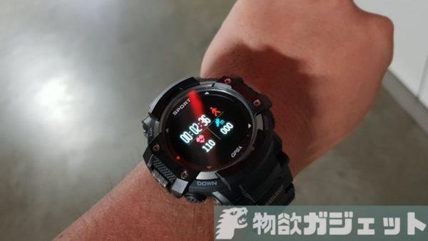 単体でGPSが使えるスマートウオッチ「DTNO.1 F7」レビュー! GPS10時間以上、スマホ連動で心拍データも常時とれる優れもの