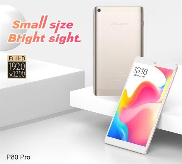 8インチWUXGAタブ『TECLAST P80 Pro』発売!わずか99.99ドルのハイコスパAndroidタブ