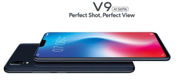 リーズナブルなノッチデザイン「Vivo V9」発売! ミドルレンジでデザインと価格のバランスがGOOD