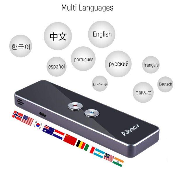 低価格「Aibecyネットワーク翻訳機」発売~20カ国語以上同時翻訳できて46ドルとリーズナブル