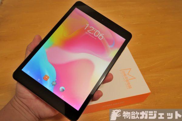 iPad mini クローン『TECLAST M89』7.9インチタブレット~ファースト・インプレッション
