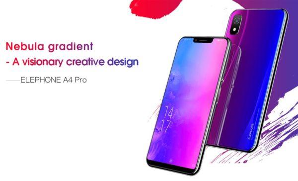 170ドルのミドルレンジノッチスマホ『Elephone A4 Pro』発売~側面指紋認証と美しいデザインが魅力