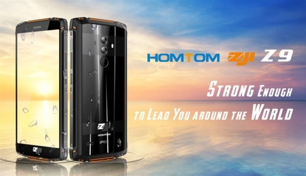 LTE B19対応タフネススマホ『HOMTOM ZOJI Z9』発売! Helio P23搭載で200ドル前半とリーズナブル