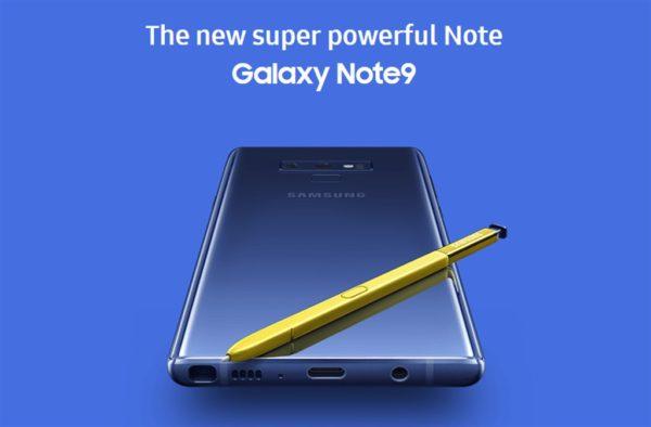 Samsungペン内蔵スマホ 『Galaxy Note9』発表会まとめ! Sペンでシャッターが切れたり、DEX対応でPCライクに使える