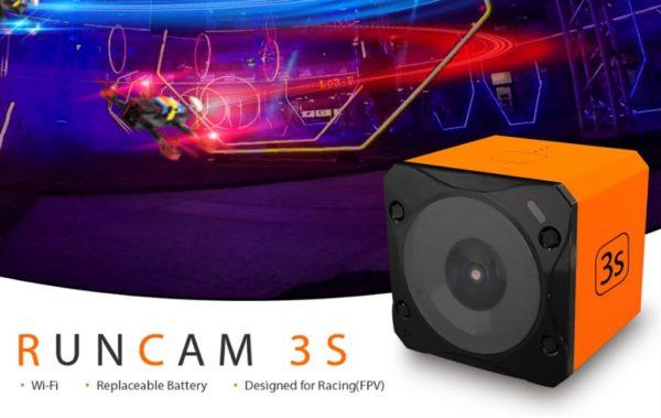 100ドル切りの超小型アクションカム『RunCam 3S』発売! WDR採用で更に明るく自然に撮れる!