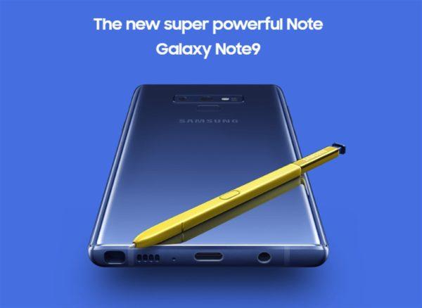 【初回入荷分は瞬殺?】SIMフリー版『Samsung Galaxy Note 9 N960FD』がETORENで発売!