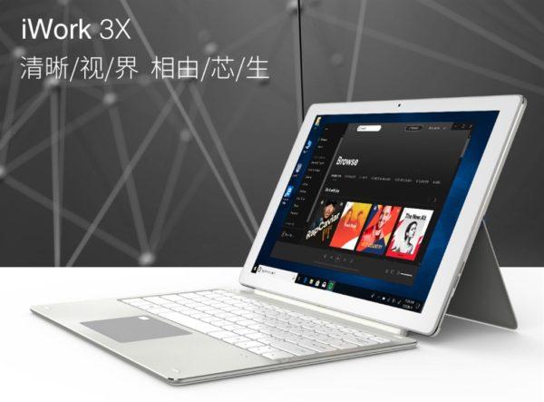「ALLDOCUBE iWork 3X」発売!Surface Proと同じ12.3インチキックスタンド搭載
