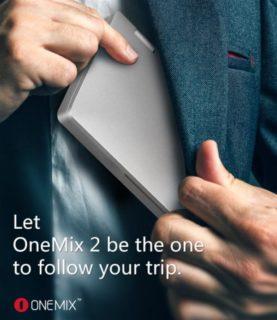 大幅に性能アップした2代目 7インチUMPC 『One Netbook One Mix2』発売! Core m3,SSD搭載