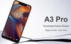 「UMIDIGI A3 Pro」発売! 5.7インチノッチディスプレイ/4G B19プラチナバンド/DSDV対応