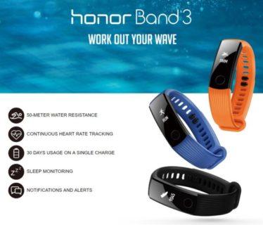 日本語可能なフィットネストラッカー「HUAWEI honor Band3」が25ドルとお買い得