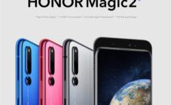 【あと20台!689.99ドル】スライド&6眼カメラのハイエンド『HUAWEI Honor Magic2』発売中! 画面内指紋認証やB19プラチナバンド対応も