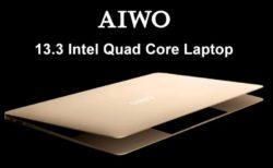 【264.99ドルクーポン追加】超ハイコスパ13.3インチノートPC「AIWO i8」発売中~256GB SSD/6GB RAM搭載で200ドル台の衝撃