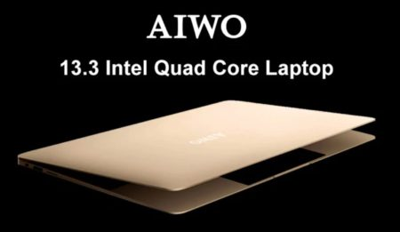 超ハイコスパ13.3インチノートPC「AIWO i8」発売中~256GB SSD/6GB RAM搭載で200ドル台の衝撃
