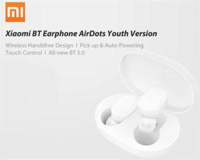 【クーポンで51ドル!】Xiaomiの完全独立イヤホン「Xiaomi Mi AirDots Youth Version」が発売中~