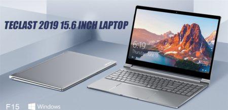 【385.99ドルクーポン追加】テンキー付15.6インチノートPCで軽量1.8kg「TECLAST F15」発売! 8GB RAM+256GB SSD搭載で快適スペック
