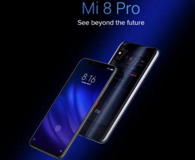 【499.99ドルクーポン追加】インディスプレイ指紋認証搭載「Xiaomi Mi 8 Pro」が割安で発売中!