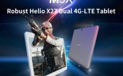 Helio X27搭載の10.1インチ2K解像度タブレット「ALLDOCUBE M5X」発売! この性能で100ドル台とリーズナブル