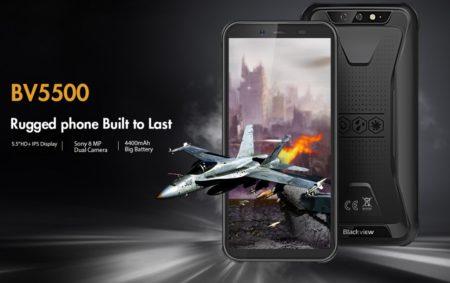 89.99ドル タフネススマホ「Blackview BV5500」が発売! プロモーションで日本語サイトも公開