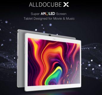 【269.99ドルでセール】10.5インチ2K AMOLEDタブレット『ALLDOCUBE X』が一般発売!
