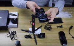プロジェクター内蔵スマートフォン『Blackview Max1』の開封動画が公開~付属の三脚やBluetoothスピーカーの使い勝手も分かる