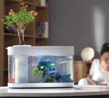 Xiaomiが熱帯魚水槽!?オールインワン型の「Geometry Fish Tank」はデザイン性も高くリビングに置きたいアイテム
