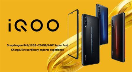【609.99ドルクーポン追加】vivoハイエンドゲーミングスマートフォン「iQOO」発売! 600ドル台のハイコスパが魅力