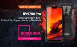 世界初Helio P70搭載タフネススマホ『Blackview BV9700 Pro』がクラウドファンディングで発売予定