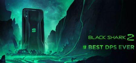 【529.99ドルクーポン追加】Xiaomiゲーミングスマートフォン「Black Shark2」発売!感圧式ディスプレイ,画面内指紋認証対応もコントローラーは別売り