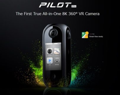 8K 360度VRカメラ「Pilot Era」~PC不要で配信も可能~Indiegogoでクラウドファンディング開始