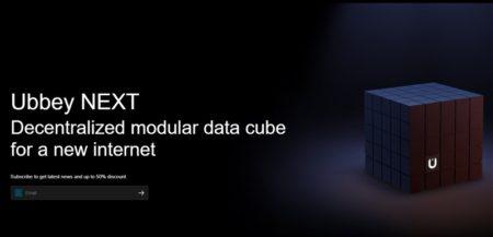 ルービックキューブ!?「Ubbey NEXT」発表~1TB NASながらもブロックチェーン技術で高速/安定データ共有が可能