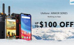 LTE B19対応タフネススマホが格安に~Banggoodで「Ulefone ARMORシリーズ」セール開催中