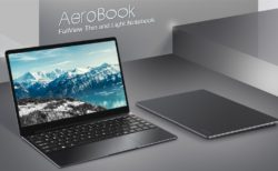 薄型軽量13.3インチノートPC「CHUWI AeroBook」発売! Core m3/8GB/256GB SSDで400ドルちょいとリーズナブル